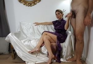 Cuckolding in purple
